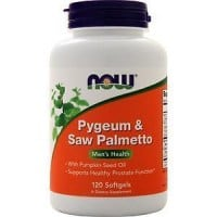 Now Pygeum & Saw Palmetto 60 softgels