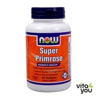 Now Super Primrose 1300 mg 60 softgels