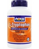 Now Tryptophan 500 mg 60 vcaps