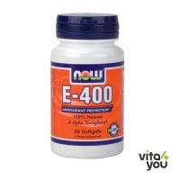 Now Vitamin E 400IU mixed tocopherols 50 softgels