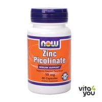Now Zinc Picolinate 50mg 60 caps