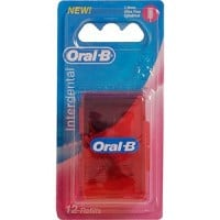 Oral-B Interdental Refill Ultra Fine κυλινδρικό 12 τμχ