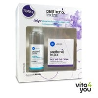 Panthenol Extra Face & Eye Antiwrinkle 24h Cream 50 ml & Micellar Cleanser 100 ml