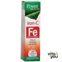 Power Health Iron & C 20 eff tabs