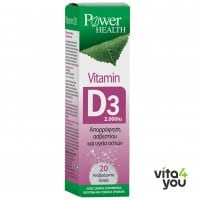 Power Health Vitamin D3 2000 IU 20 eff tabs