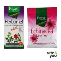 Power Health Herbomel 200 ml & Δώρο Echinacea Caramels 60 gr