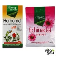 Power Health Herbomel Kids 200 ml & Δώρο Echinacea Caramels 60 gr