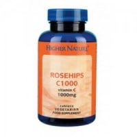Higher Nature Rosehips 1000 90 tabs