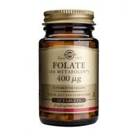 Solgar Folate (Metafolin) 400 μg 50 tabs