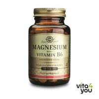 Solgar Magnesium with vitamin B6 100 tabs