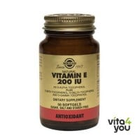 Solgar Vitamin E  Natural 200 IU 50 softgels