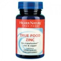 Higher Nature Zinc True Food 30 tabs