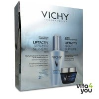 Vichy Liftactiv Serum 10 Supreme 30 ml + Δώρο Liftactiv Night Supreme 15 ml
