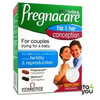 Vitabiotics Pregnacare His & Her Conception 60 tabs