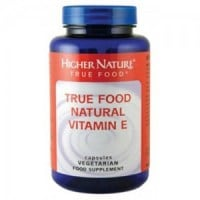 Higher Nature True Food Natural Vitamin E 30 caps