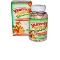 Hero Nutritionals Yummi bears Calcium + Vitamin D 90 gummies