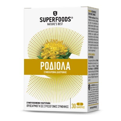 Superfoods Χρυσή Ρίζα Rhodiola 250 mg 30 caps