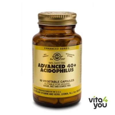 Solgar Advanced 40+ Acidophilus 60 veg.caps