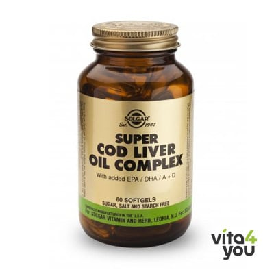 Solgar Super Cod Oil Complex 60 softgels