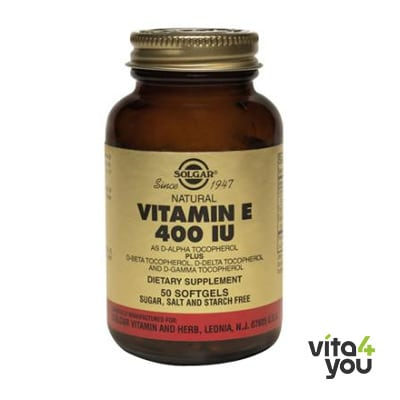 Solgar Vitamin E  Natural 400 IU 250 softgels