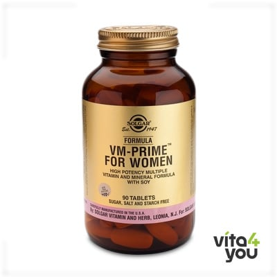 Solgar Formula VM-Prime for Women 90 tabs