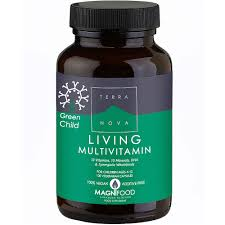 Terra Nova Green Child Living Multivitamin 50 vcaps