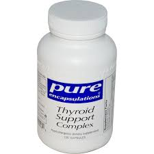 Pure Encapsulations Thyroid Support 60 caps