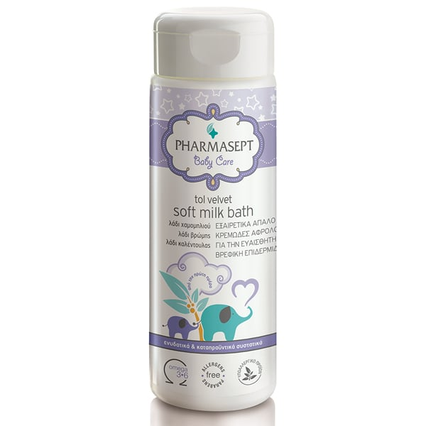 Pharmasept Tol Velvet Baby Soft Milk Bath 200 ml