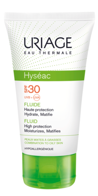 Uriage Hyseac Fluid SPF 30 50 ml