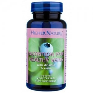 Higher Nature Nutrition for Healthy Veins 90 caps