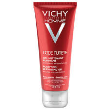 Vichy Homme Code Purete Cleansing Gel 100 ml