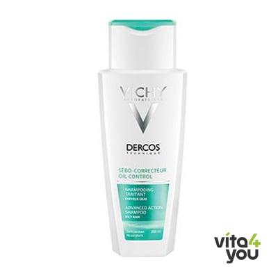 Vichy Dercos Oily hair Shampoo 200 ml