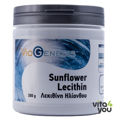 Viogenesis Sunflower Lecithin Powder 300 gr