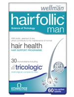 Vitabiotics Hair Follic Man 60 tabs
