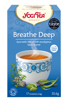 Yogi Tea Breathe Deep Bio 30.6 gr