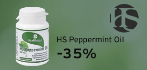 Health Sign HS Peppermint Oil 200 mg 30 softgels