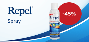 Unipharma Repel Odorless Insect Repellent spray with Hyaluronate 150 ml