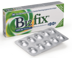 Unipharma B12 Fix 1000 μg 30 tabs