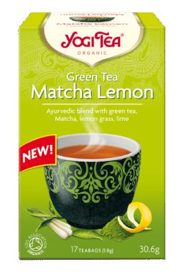 Yogi Tea Green Tea Matcha Lemon 30.6 gr