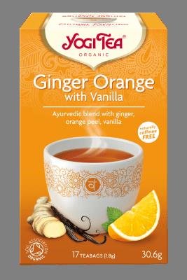 Yogi Tea Ginger Orange Vanilla 30.6 gr