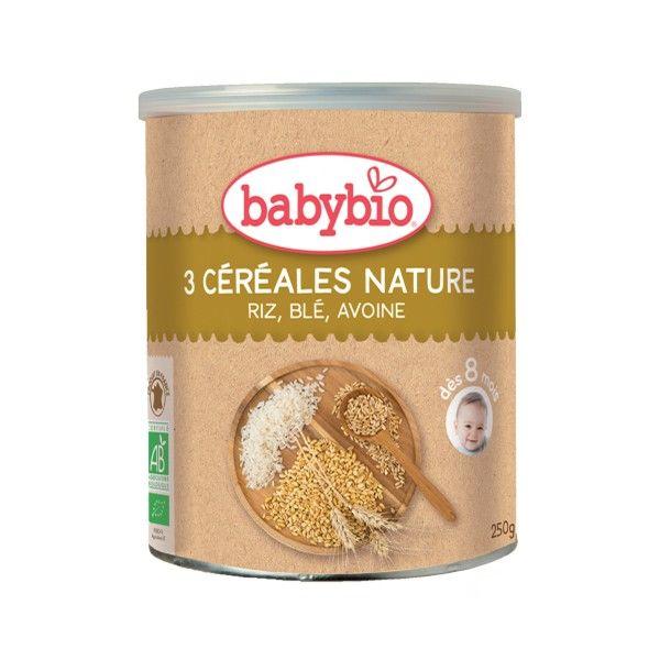 BabyBio хөх тариатай хүүхдийн каш 8+ сар