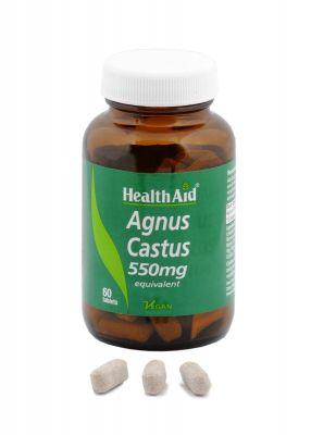 Health Aid Agnus Castus 550 mg 60 tabs