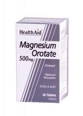 Health Aid Magnesium Orotate 500 mg 30 tabs