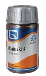 Quest Vitamin A & D 90 caps