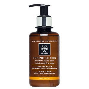 Apivita Toning Lotion normal-dry skin honey & orange 200 ml