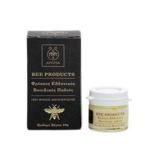 Apivita Bee products Φρέσκος Ελληνικός βασιλικός πολτός 10 gr