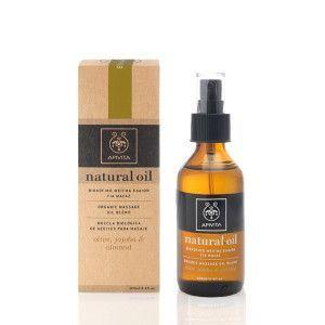 Apivita Natural oil Organic Massage oil blend olive, jojoba & almond 100 ml