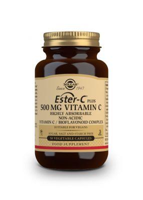 Solgar--Ester--C--plus--500--mg--Vitamin--CBioflavonoid--Complex--50--vegcaps
