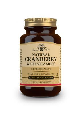 Solgar Cranberry Extract with Vitamin C 60 veg.caps