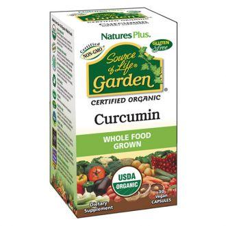 Nature's Plus Garden Organic Curcumin 30 veg caps